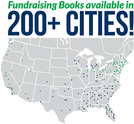 SaveAround Fundraising Coupon Books are Available in Over 200 Cities in the U.S. and Canada